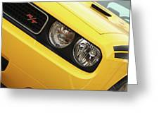 2011 Dodge Challenger Rt Greeting Card