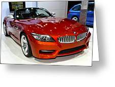 2014 Bmw Z4 Roadster Sdrive35is Greeting Card