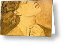 41147 Dante Gabriel Rossetti Greeting Card