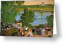 43785 Boris Kustodiev Greeting Card