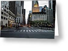 5th Avenue Greeting Card