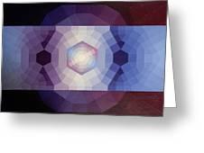 #65 Violet Field Greeting Card
