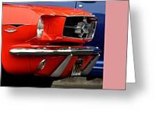 66 Mustang Fastback Greeting Card