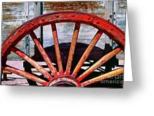 8 Spokes Greeting Card