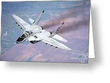 A Bulgarian Air Force Mig-29s Greeting Card