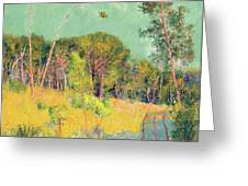 A Clearing In The Forest Greeting Card