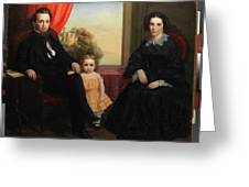 A Family Group Greeting Card