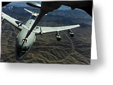 A U.s. Air Force E-3 Sentry Aircraft Greeting Card by Stocktrek Images