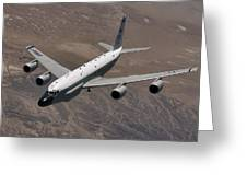 A U.s. Air Force Rc-135 Rivet Joint Greeting Card