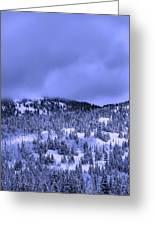 A Utah Winter Greeting Card