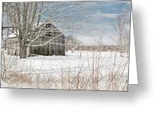 A Winters Day Greeting Card