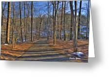 A Winter's Walk Greeting Card