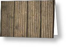 A Wood Panel Background, Floor, Wall, Texture Greeting Card