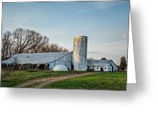 Abandoned Countryside Farm In The Afternoon Greeting Card