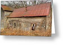Abandoned Farmhouse In Kentucky Greeting Card