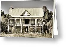 Abandoned Plantation House #1 Greeting Card