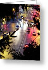 Abbotsford Lights 01 Greeting Card