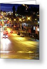 Abbotsford Lights 04 Greeting Card
