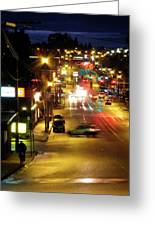 Abbotsford Lights 05 Greeting Card