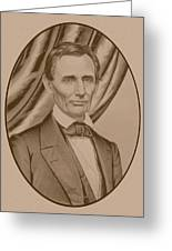 Abraham Lincoln Circa 1860  Greeting Card