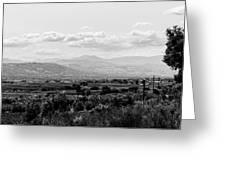 Abruzzo - An Italian Landscape  Greeting Card