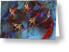 Abstract 102910 Greeting Card