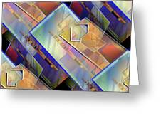 Abstract  145 Greeting Card