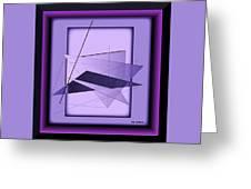 Abstract 549 Greeting Card
