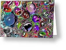 Abstract 62316.5 Greeting Card