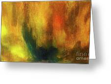 Abstract Background Structure With Oil Painting Texture In Tones Of Nature. Greeting Card