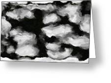 Abstract Monochome 159 Greeting Card