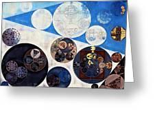 Abstract Painting - San Marino Greeting Card