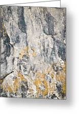 Abstract Texture Old Plaster Greeting Card