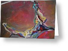 Abstraction#8 Greeting Card