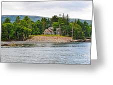 Coastal Acadia Greeting Card