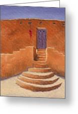 Acoma Steps Greeting Card