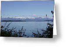 Across The Channel Greeting Card