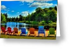 Adirondack Calm Greeting Card