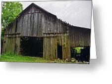 Aged Wood Barn Series Greeting Card