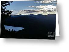 Agnes Lake Montana Greeting Card