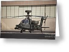 Ah-64d Apache Longbow At Pinal Airpark Greeting Card