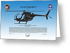 Ah-6j Little Bird Greeting Card