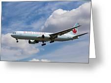 Air Canada Boeing 767 Greeting Card