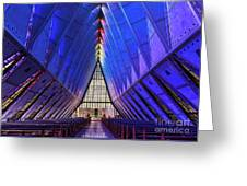 Air Force Academy Cadet Chapel Greeting Card