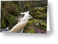 Aira Force Lower Stone Bridge Greeting Card