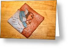 Akaweese - Tile Greeting Card