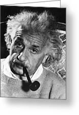 Albert Einstein (1879-1955) Greeting Card