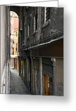 Alley #10, Venice Greeting Card
