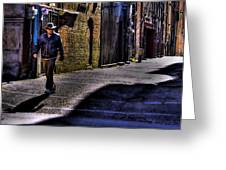 Alley Stroll Greeting Card