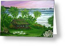 Aloha Morning Greeting Card